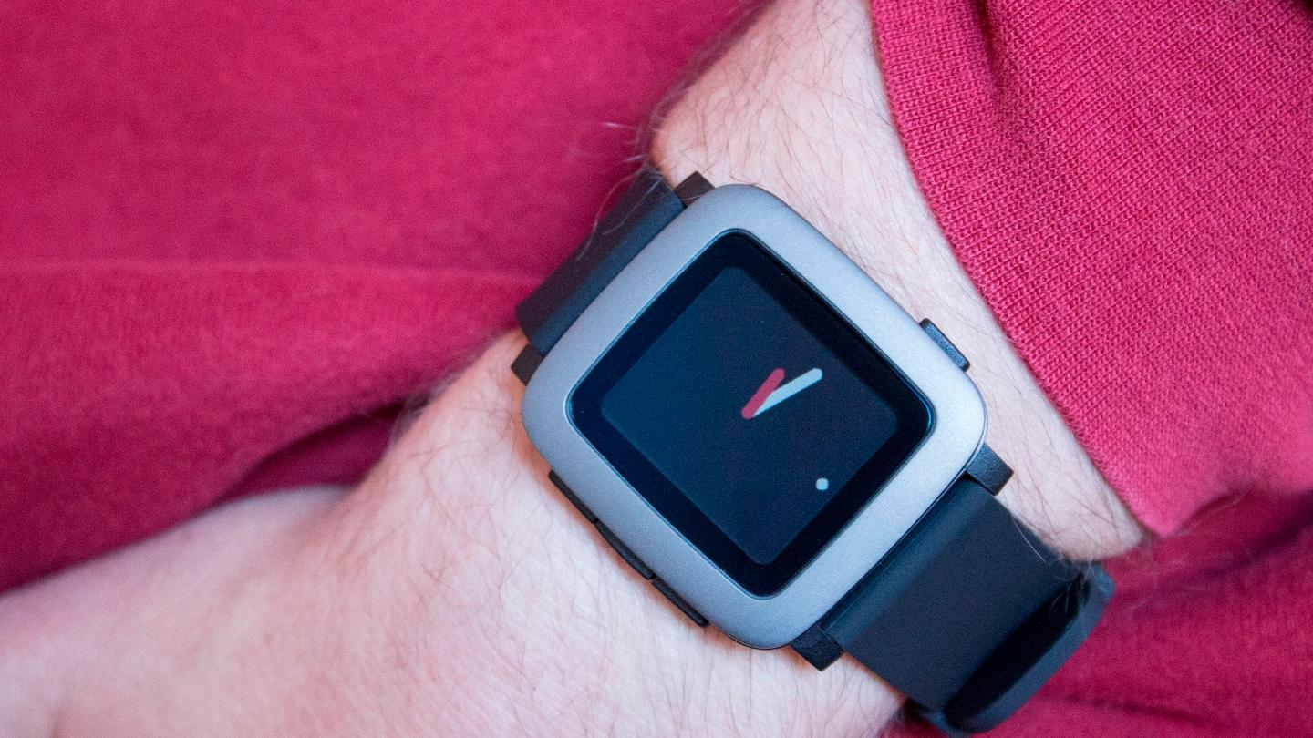 Pebble Time's design didn't tickle our fancy at first, but it's grown on us