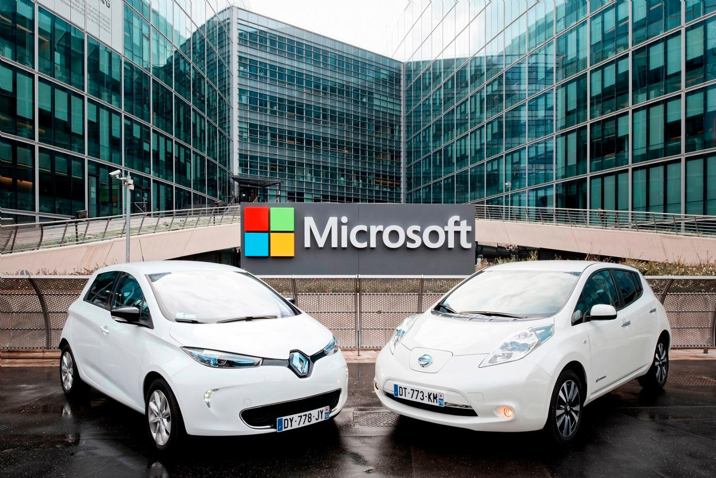 The Renault-Nissan Alliance is to make use of Microsoft's Azure platform for the development of automotive connectivity tools