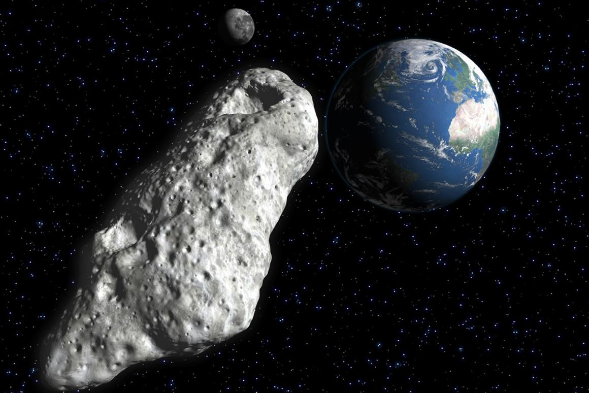 An asteroid passing close to Earth next month will provide stargazers with a rare viewing opportunity (Image: Shutterstock)