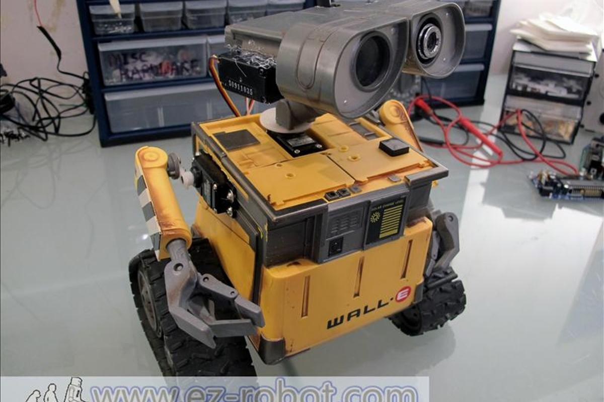 Customized WALL-E robot toy by DJ Sures