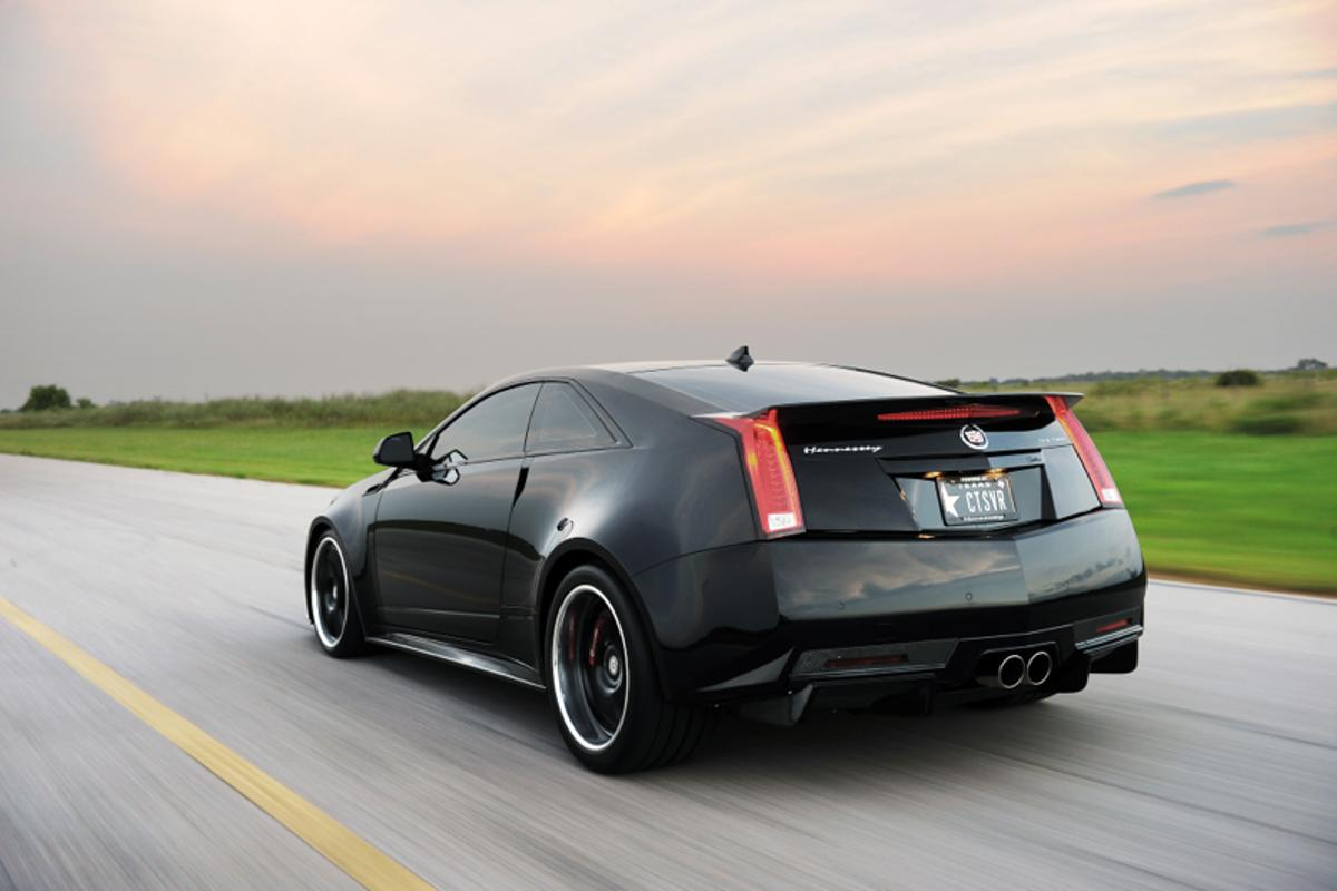 Hennessey's 1,226 horsepower CTS-VR1200 - a performance-tuned Cadillac CTS-V.