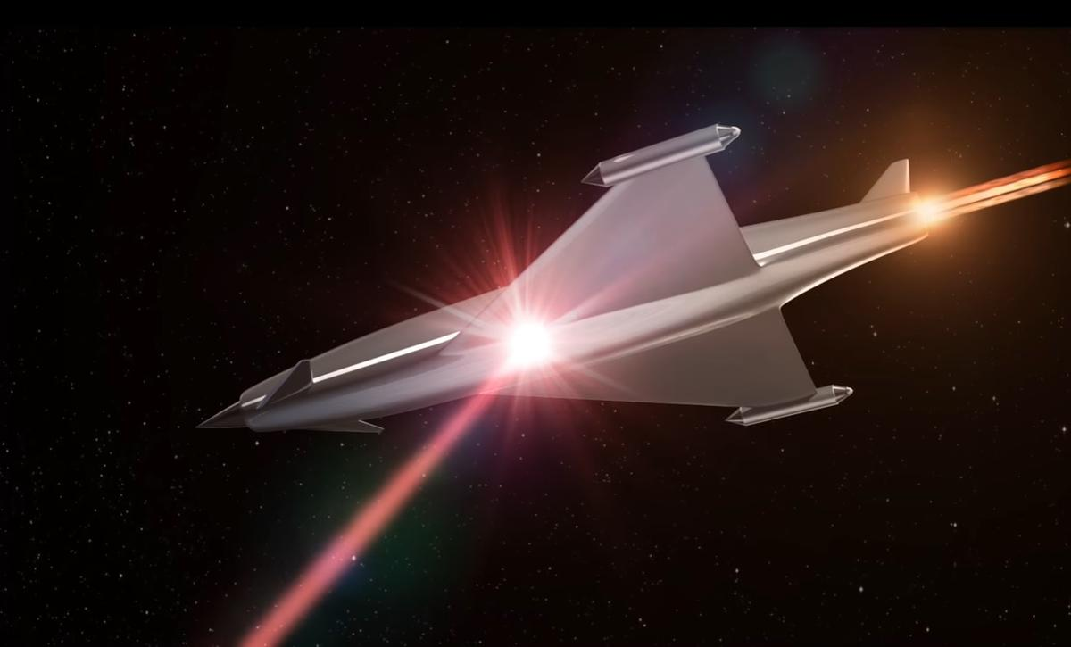 A new type of atmosphere-altering directed energy laser and lens system mooted by researchers at BAE Systems may make laser defense shields a real possibility on future aircraft