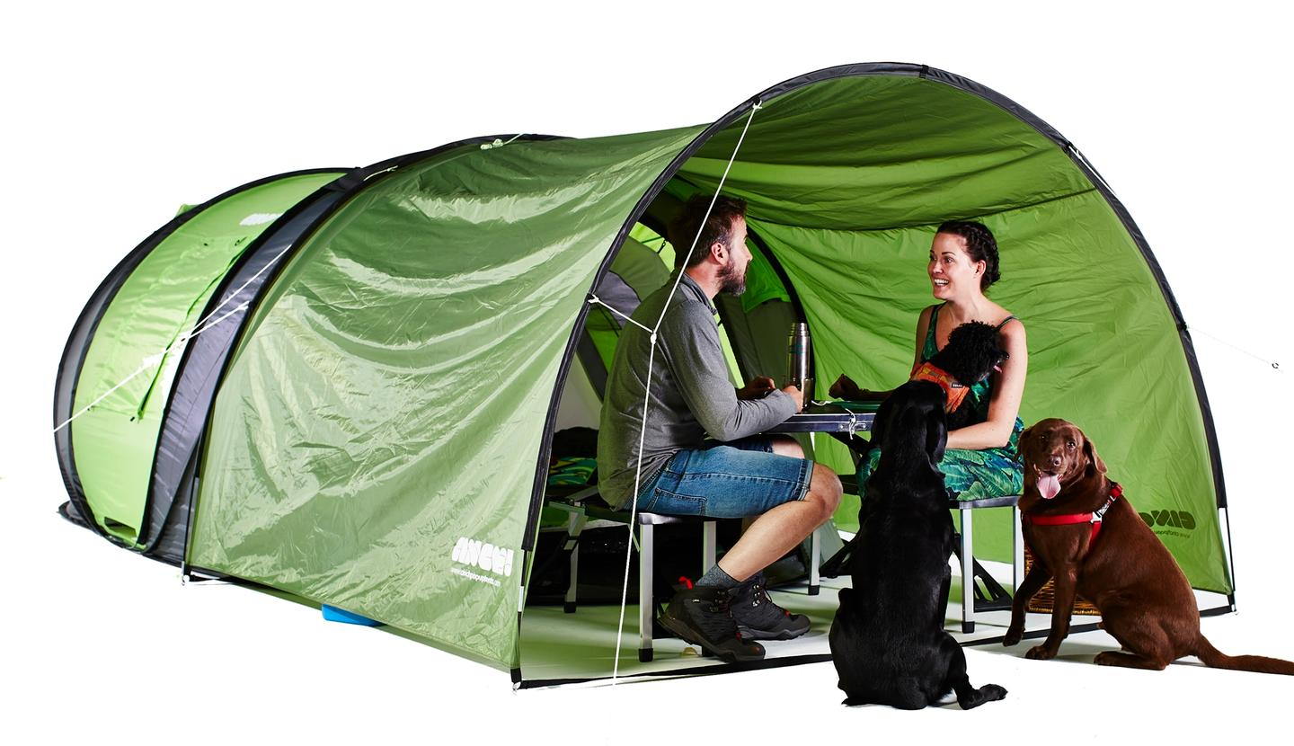 """The Cinch! tentis aimed at offering convenience, comfort and quality for a """"realisticprice"""""""