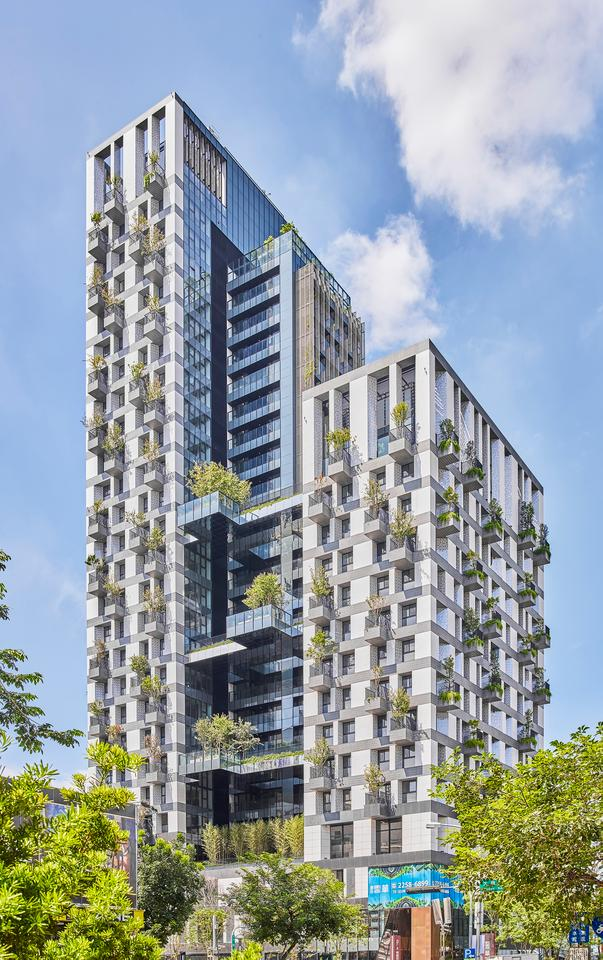 Sky Green consists of two 26-story residential towers