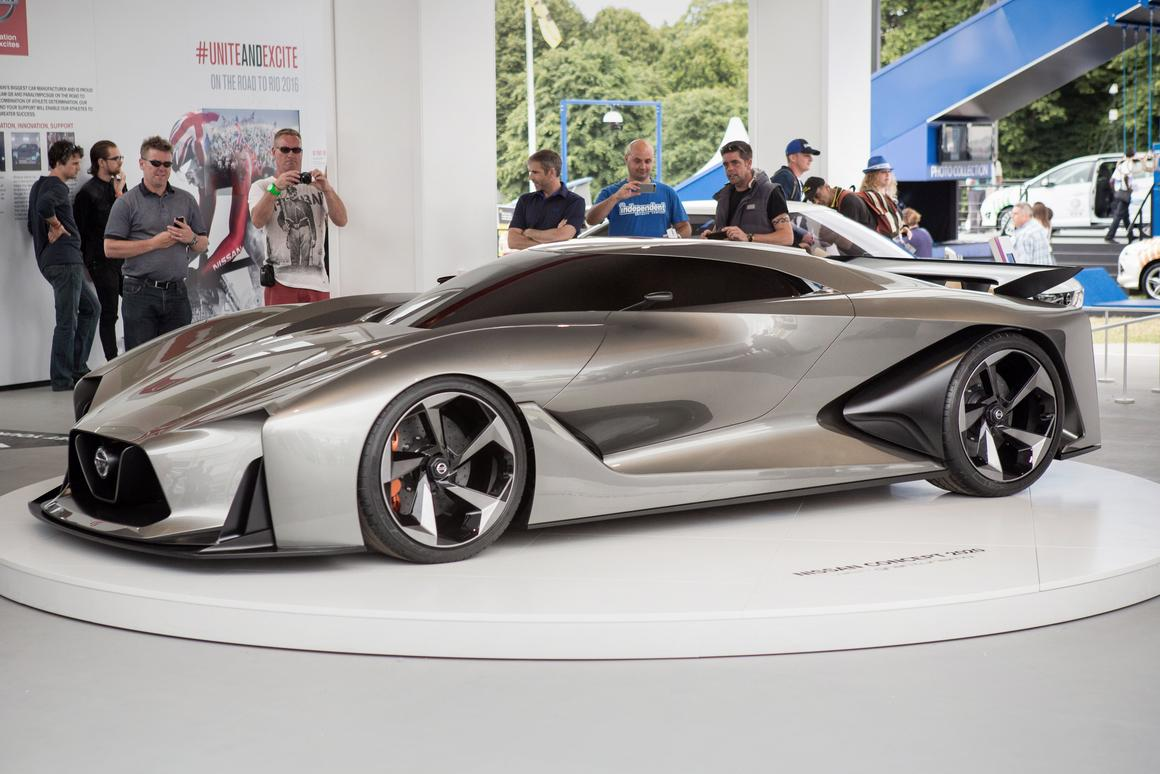 The Concept 2020 Vision Gran Turismo was unveiled at the Goodwood Festival of Speed