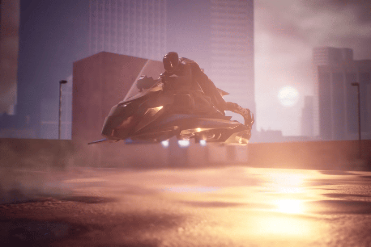 The Speeder will have VTOL capability