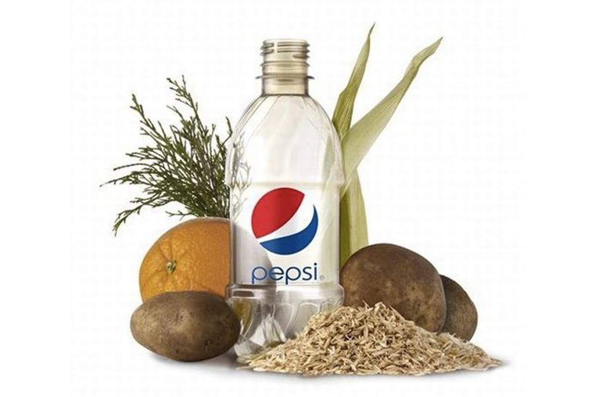 PepsiCo says it has developed the world's first 100 percent plant-based PET bottle