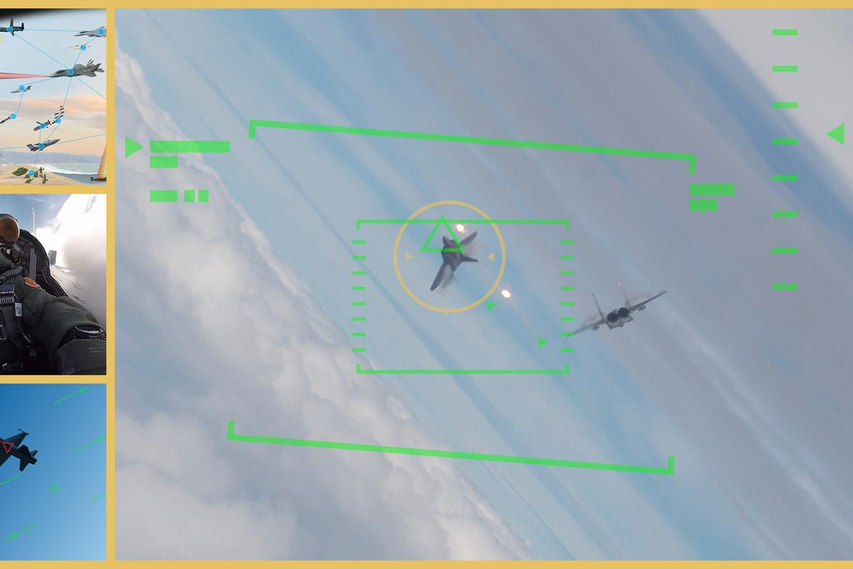 ACE aims to increase warfighter trust in autonomous combat technology by using human-machine collaborative dogfighting as its initial challenge scenario