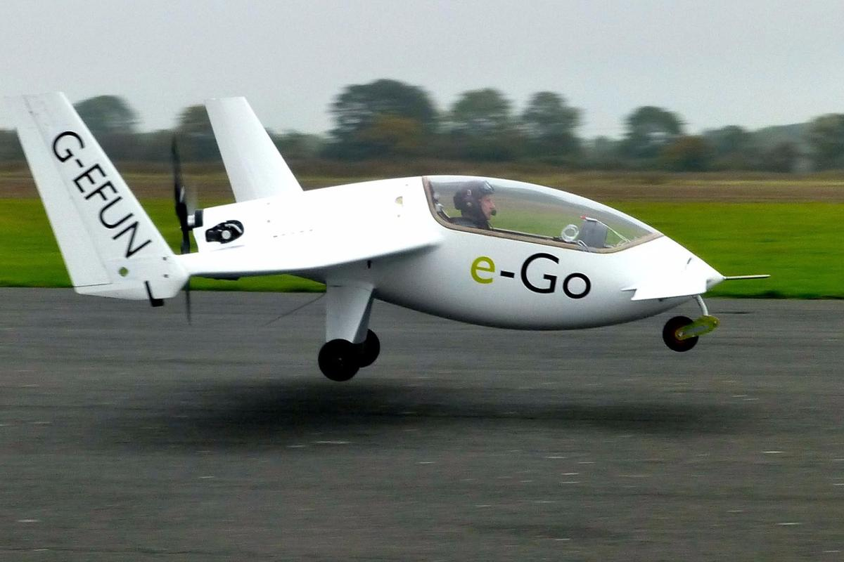 e-Go is designed to makeflying more accessible