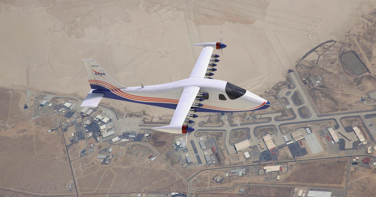 NASA reveals what the final X-57 all-electric X-plane will look like