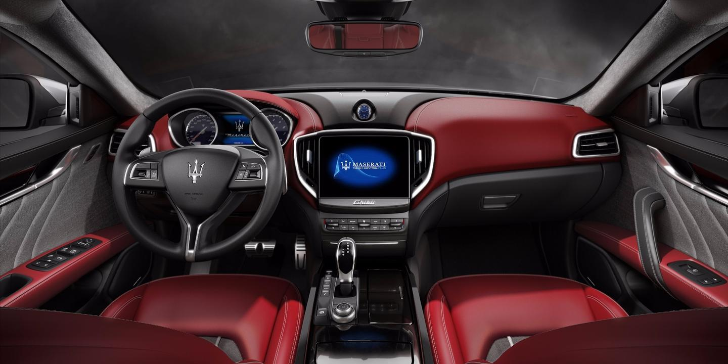 A new infotainment system improves the Ghibli interior