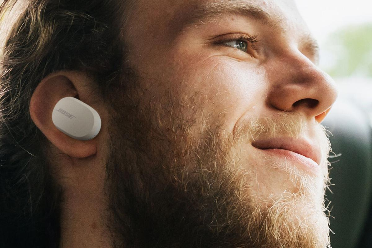 Industry leading noise cancellation from Bose has been squeezed into a pair of true wireless earphones