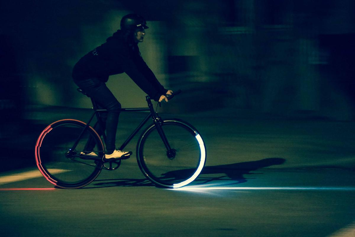 The Revolights Eclipse + system in action