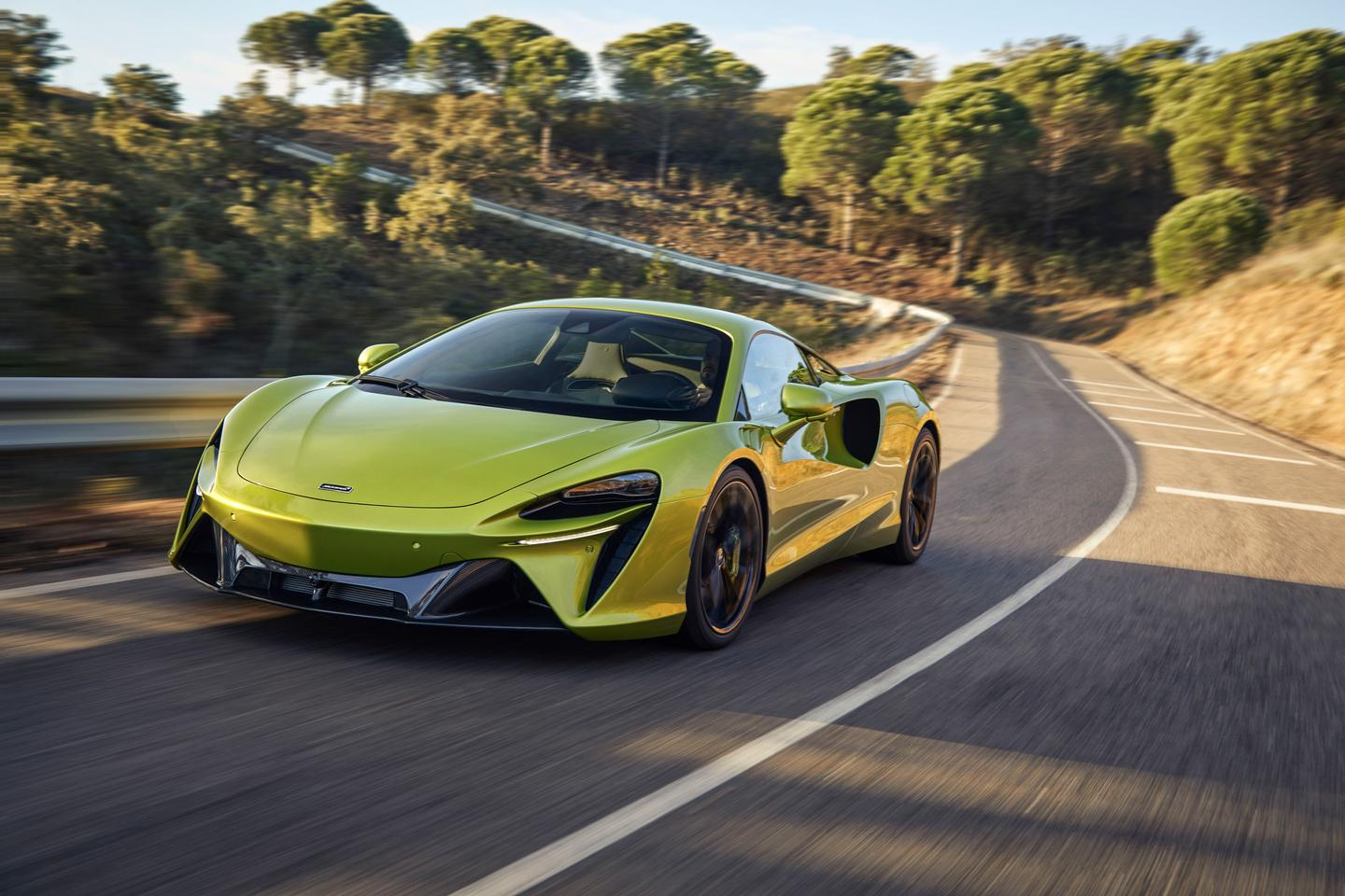 McLaren's new Artura is the first Hybrid the company has built since the extraordinary P1