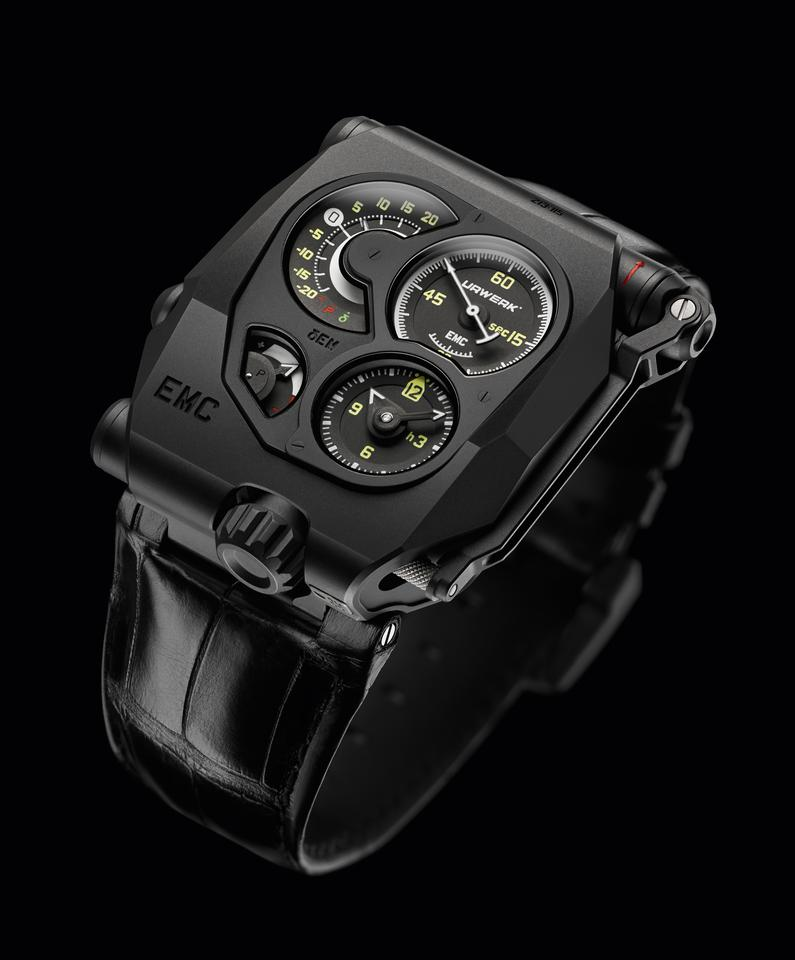 """The Urwerk EMC is currently listed as """"experimental"""""""