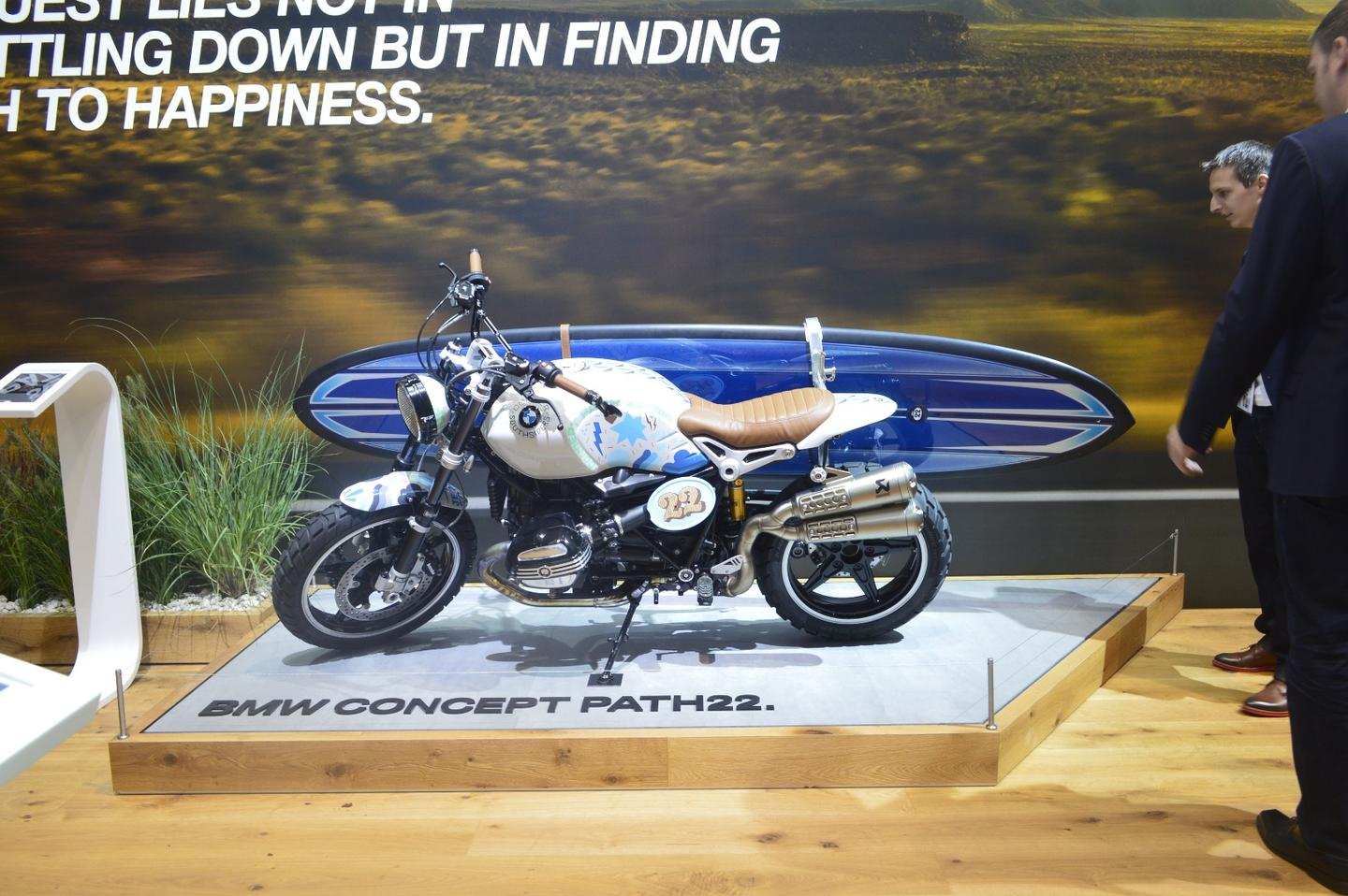 Exhibited in Frankfurt, the BMW Concept Path 22 is a potential teaser for a production model to come soon