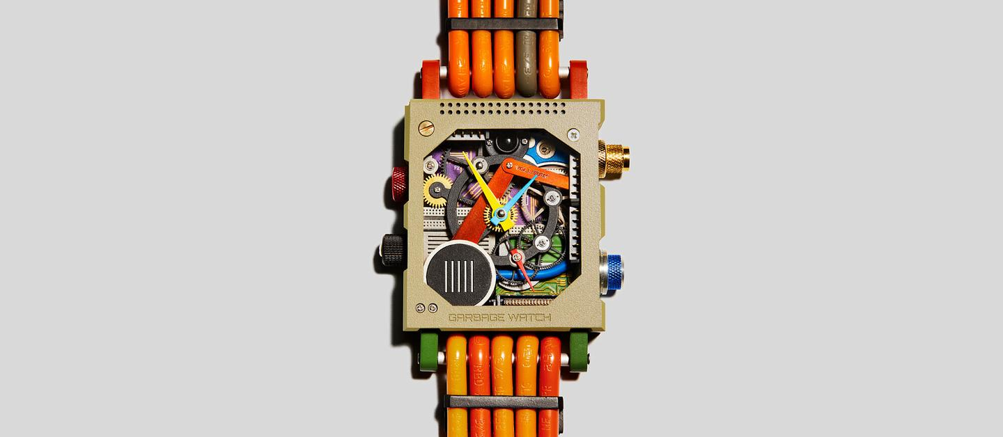 Vollebak explores how e-waste can be recycled into a funky accessory