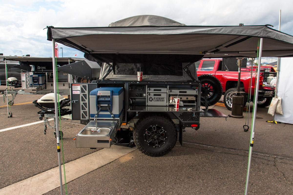 Patriot Campers on show at the 2018 International Off-Road Expo