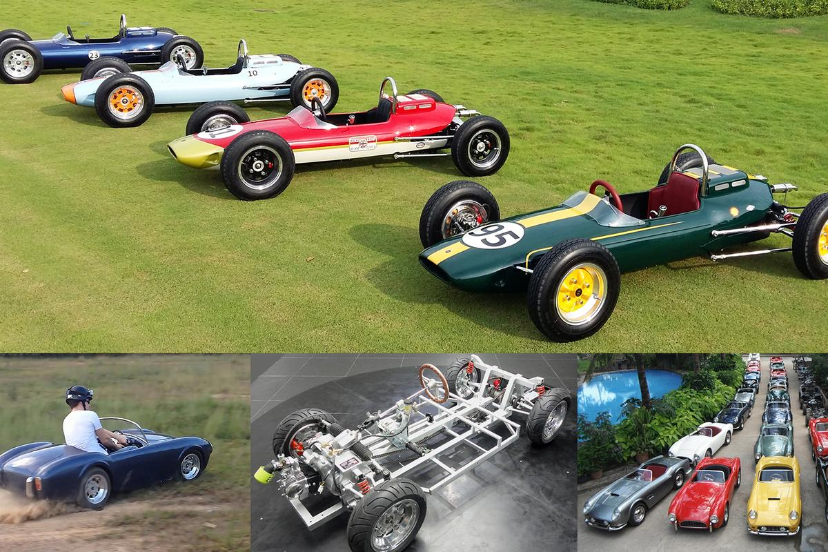 Half-scale cars are small enough and timid enough to stage a mini Grand Prix in your own backyard http://www.groupharrington.com/