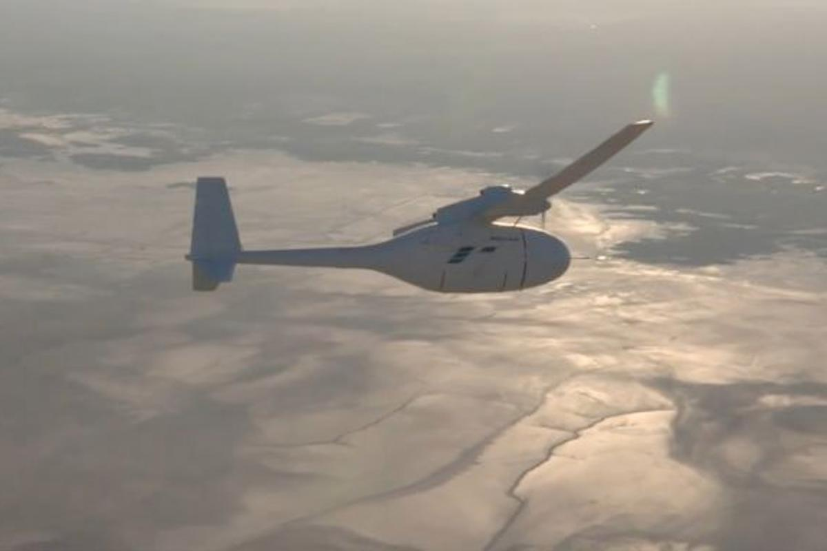 Boeing's Phantom Eye unmanned autonomous aircraft made its first flight on June 1st