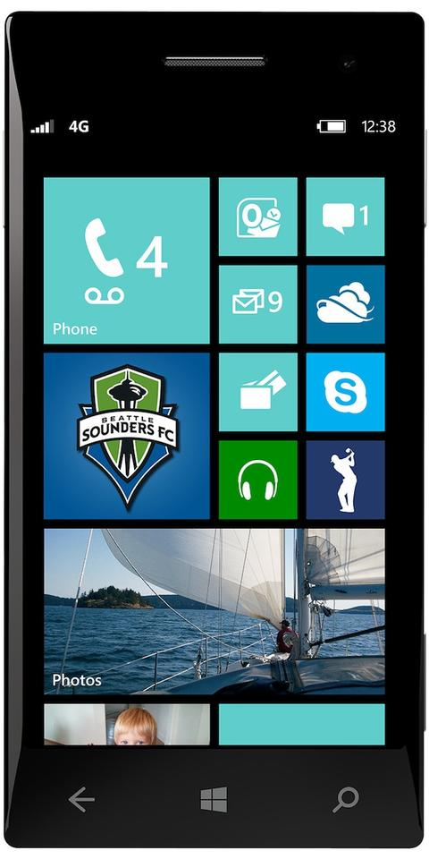 The Windows Phone 8 experience mirrors that offered by the desktop and tablet versions of Windows 8