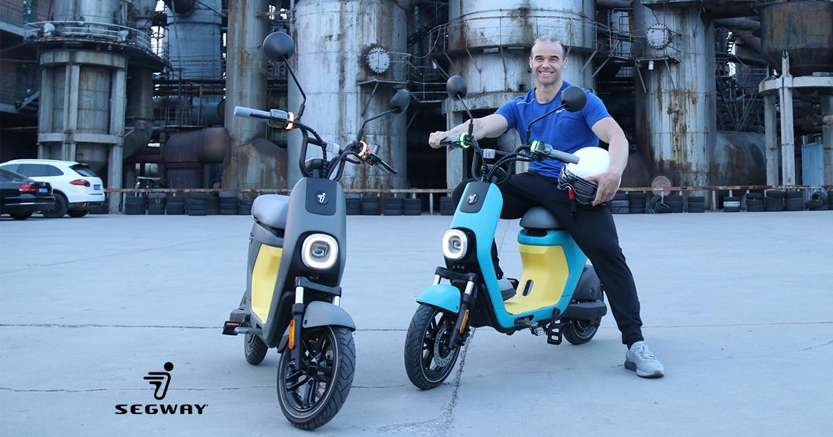 Segway says that eMoped C80 riders shouldn't need a license in most US states