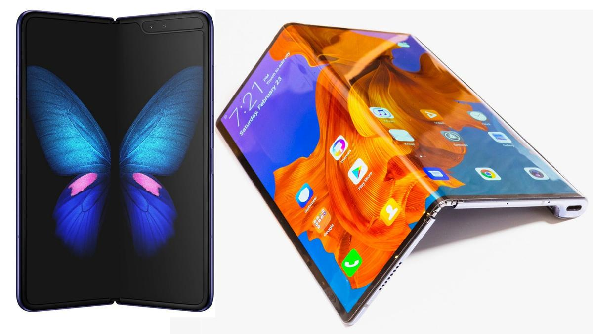 How do the Samsung Galaxy Fold and Huawei Mate X stack up?