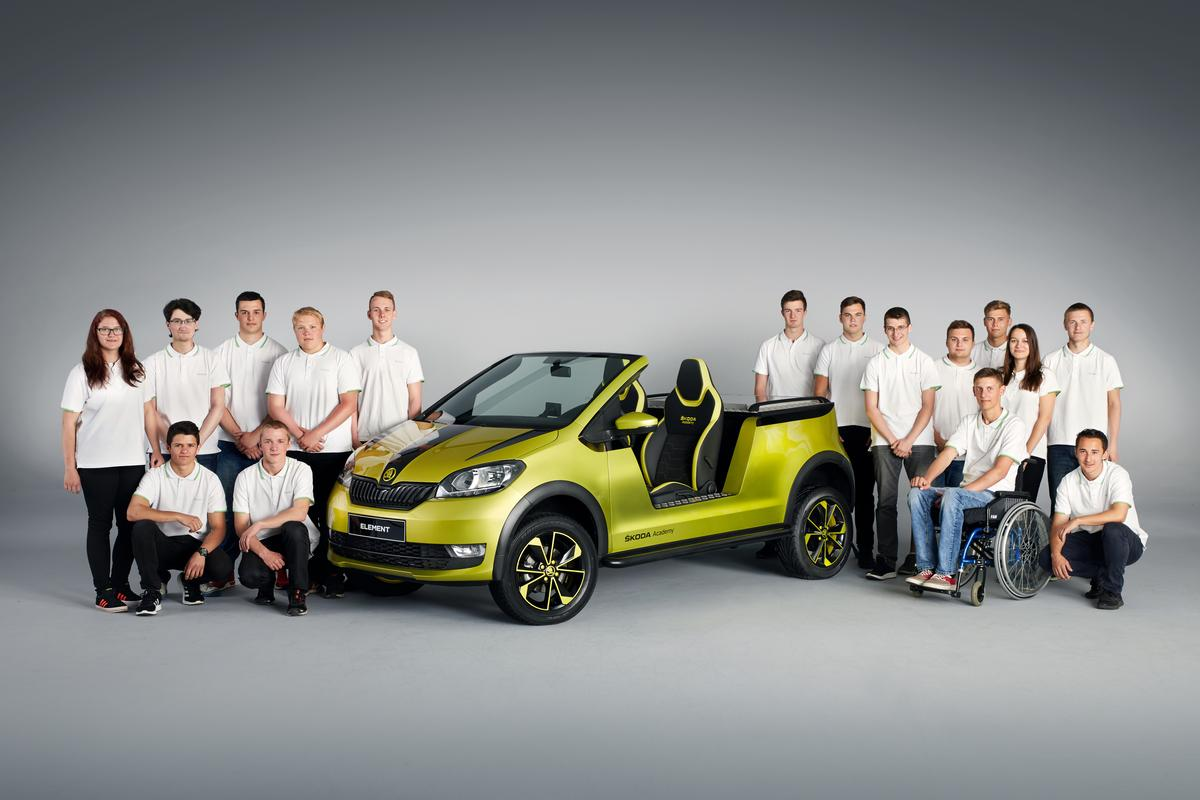 This year's student creation, the Skoda Element