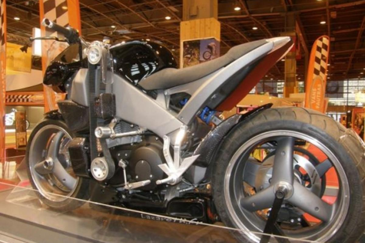 Lazareth's custom Buell XB12S