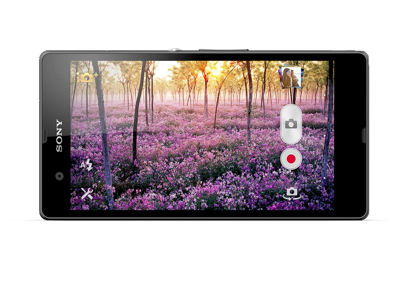 The Xperia Z's rear camera shoots HDR video