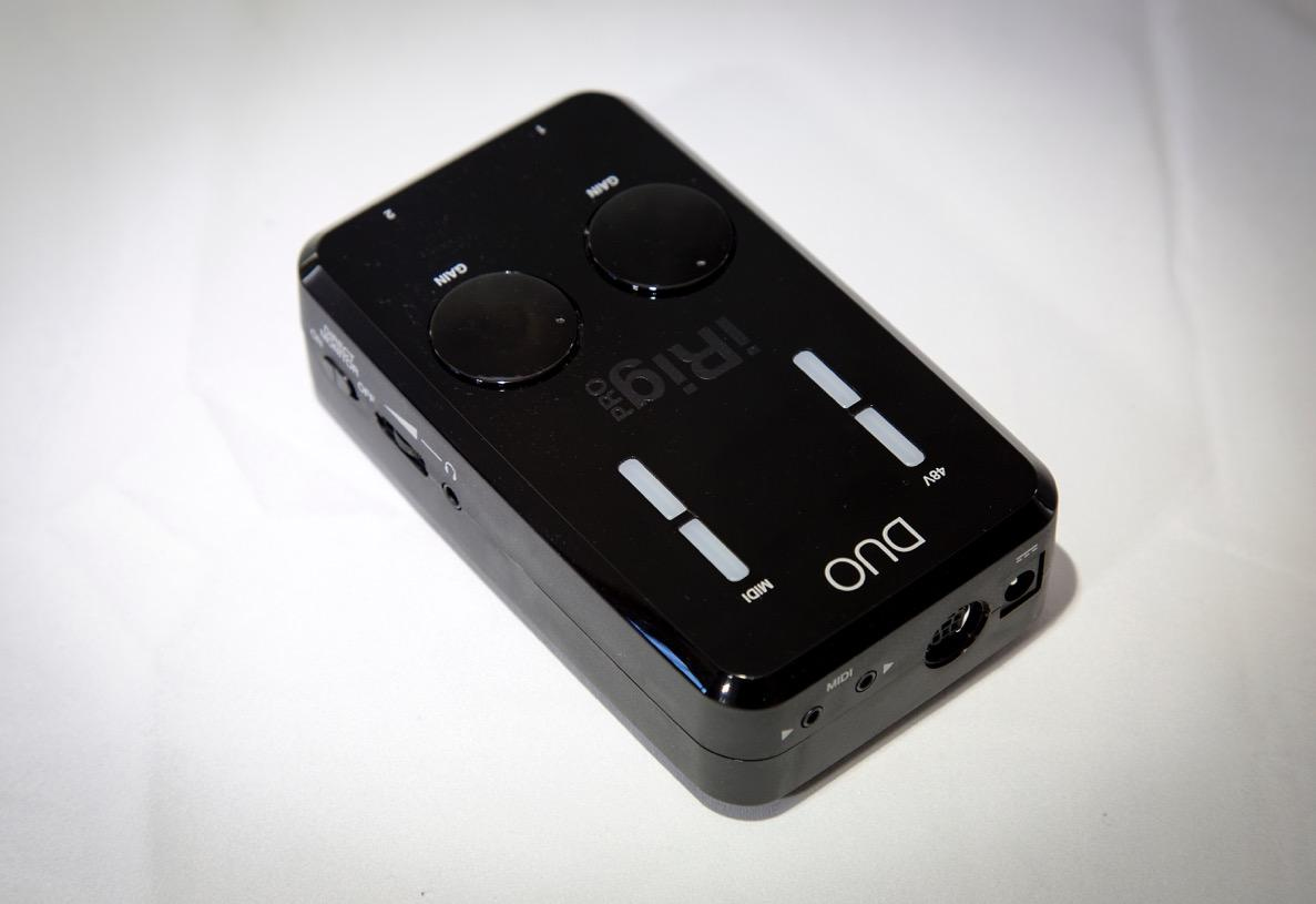 At only 13 cm long, 7.5 cm wide and just under 4 cm thick, the iRig Pro Duo's small footprint makes it truly portable