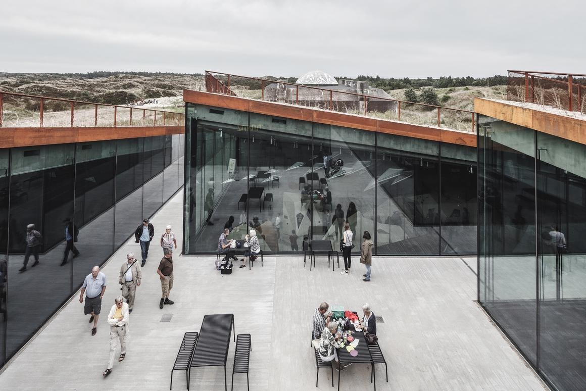 The Tirpitz Museum, by Bjarke Ingels Group, is one of the nine recipients of the American Institute of Architects'2019 Institute Honor Awards for Architecture