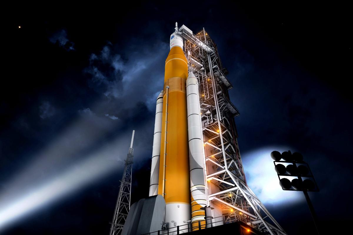 The first manned Orion mission was planned for 2021, but could now take place in 2019