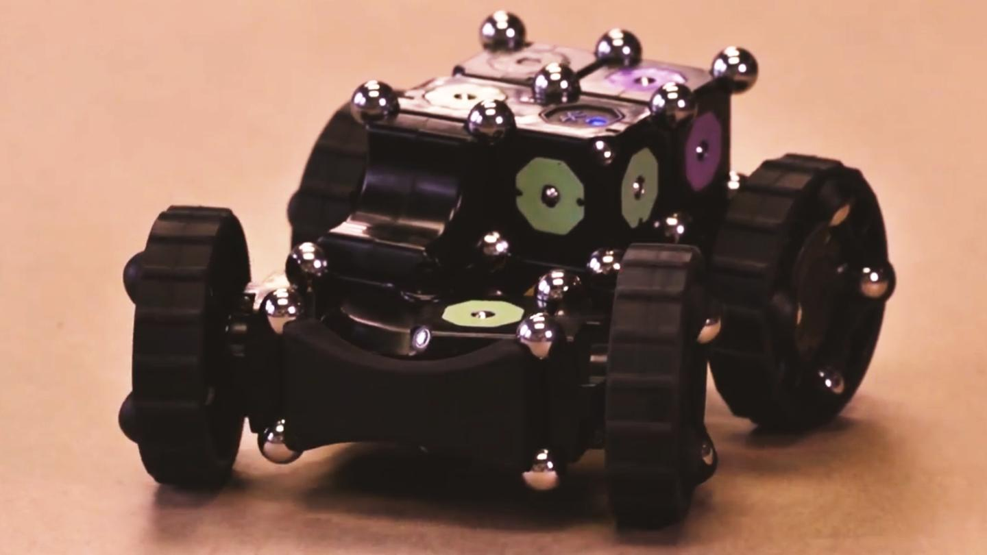 MOSS can be used to create a robot vehicle