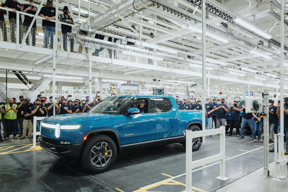 Rivian's sold-out R1T launch edition comes with a large 135-kWh battery pack