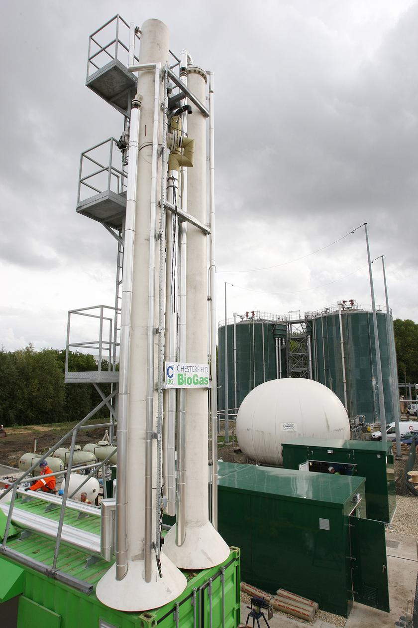 Human waste power plant goes online in the UK