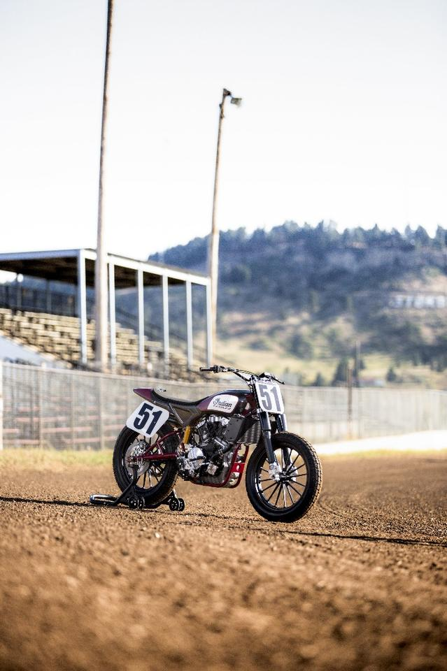 Indian Motorcycle is now offering the race ready Scout FTR750 for sale