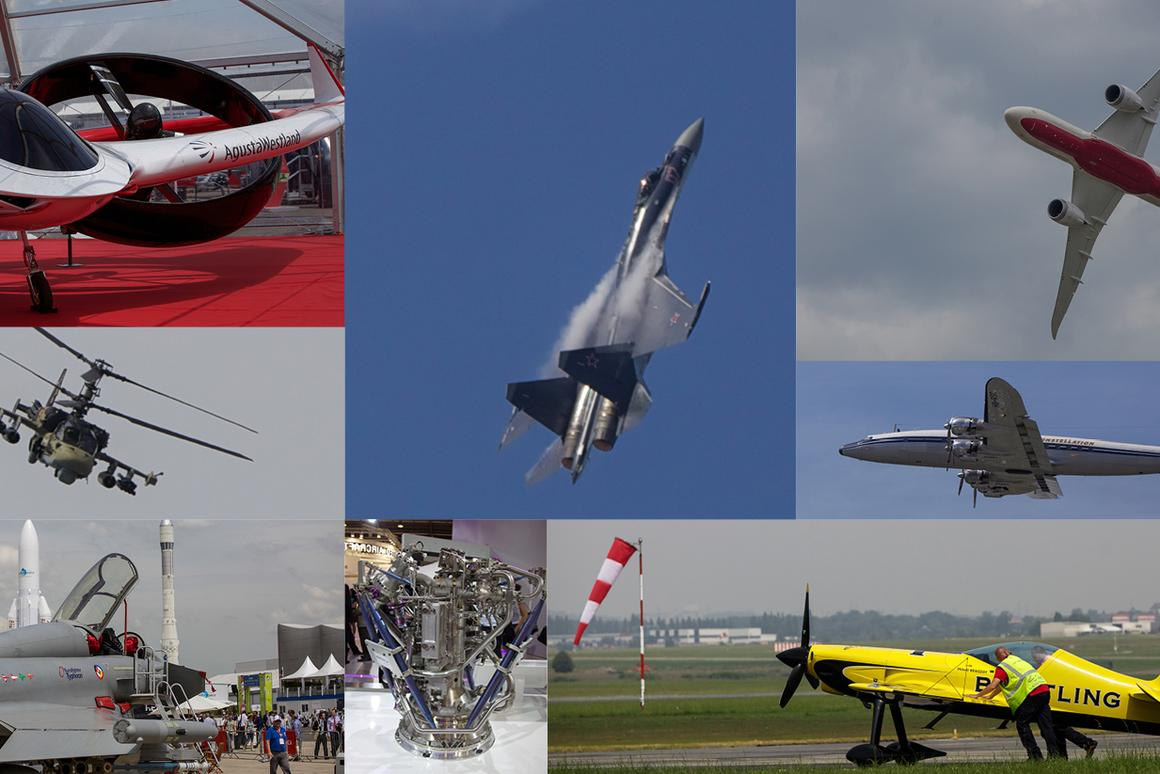 The 50th Paris Air Show provided a feast for the eyes of aero-enthusiasts