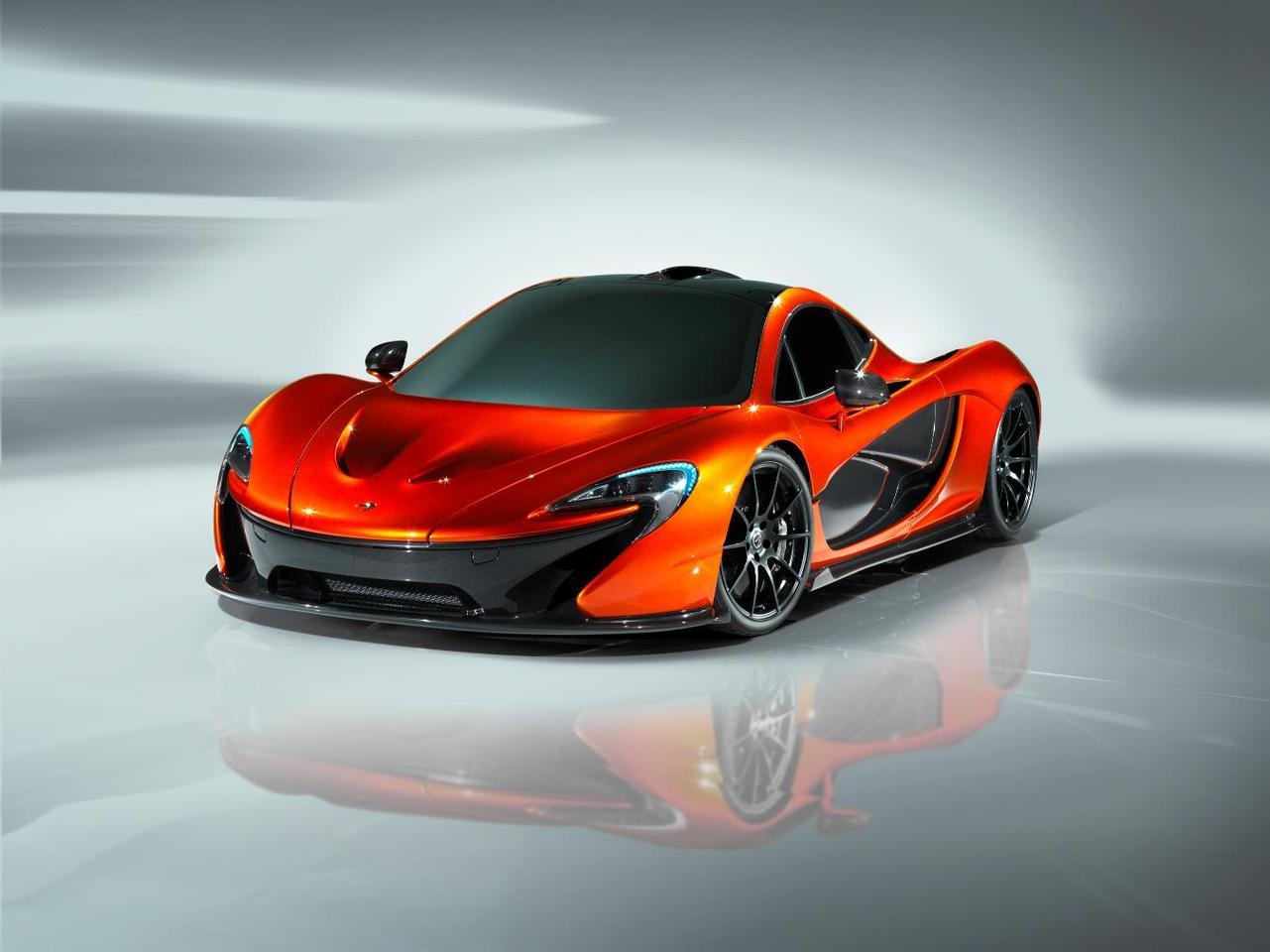 The McLaren P1 will hit the market next year