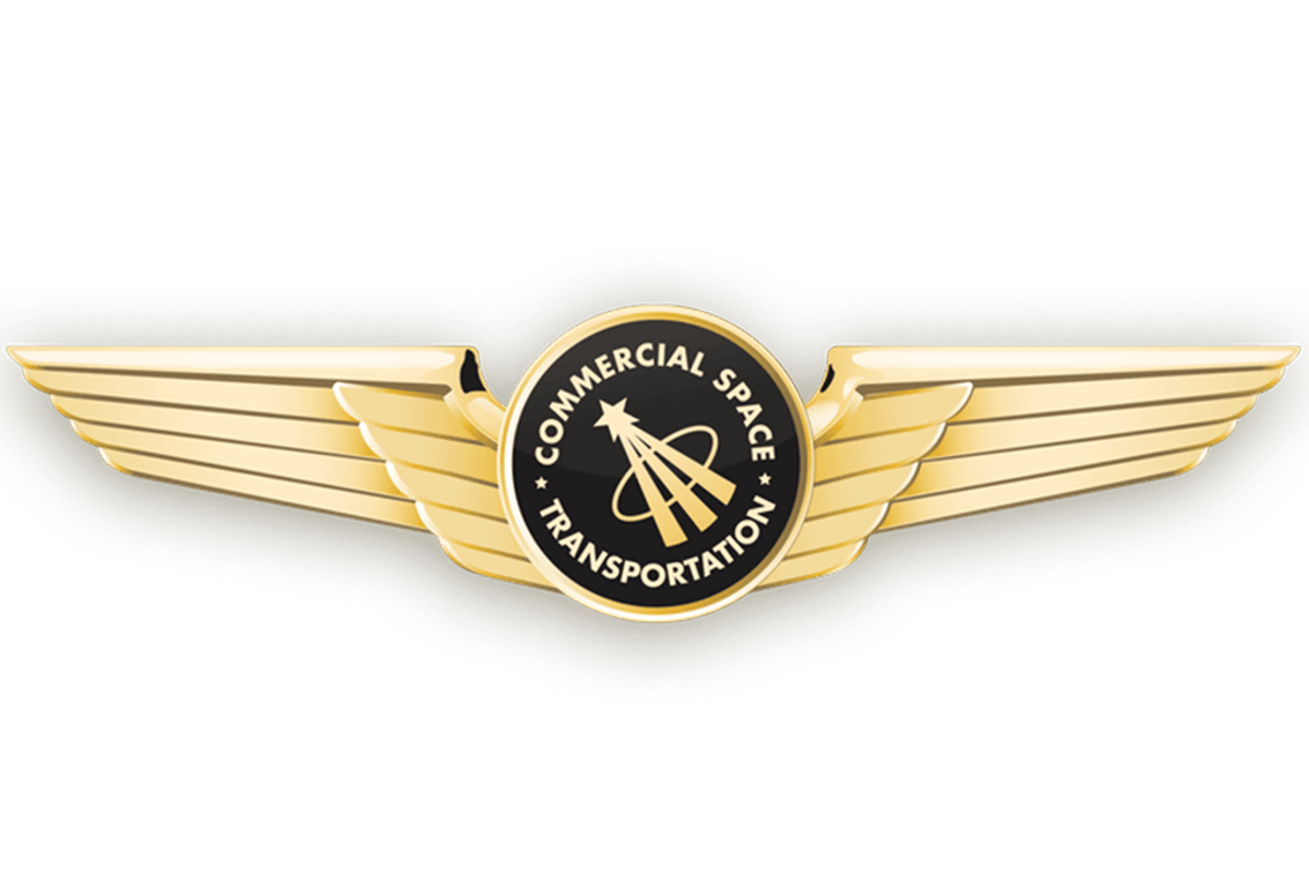 US Commercial Astronaut wings