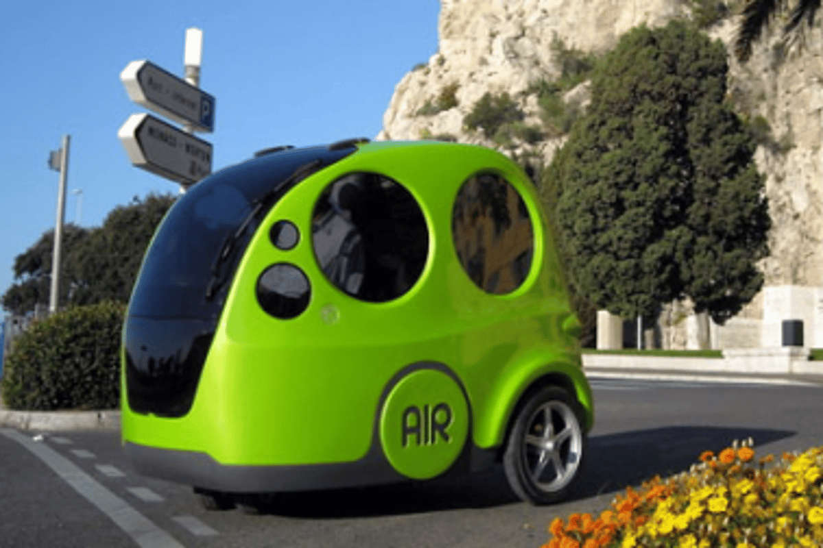 MDI's compressed air powered AIRpod