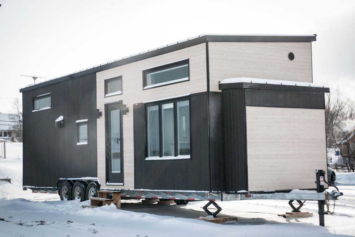 Spacious Tiny House Built To Withstand Canadian Winter Chill