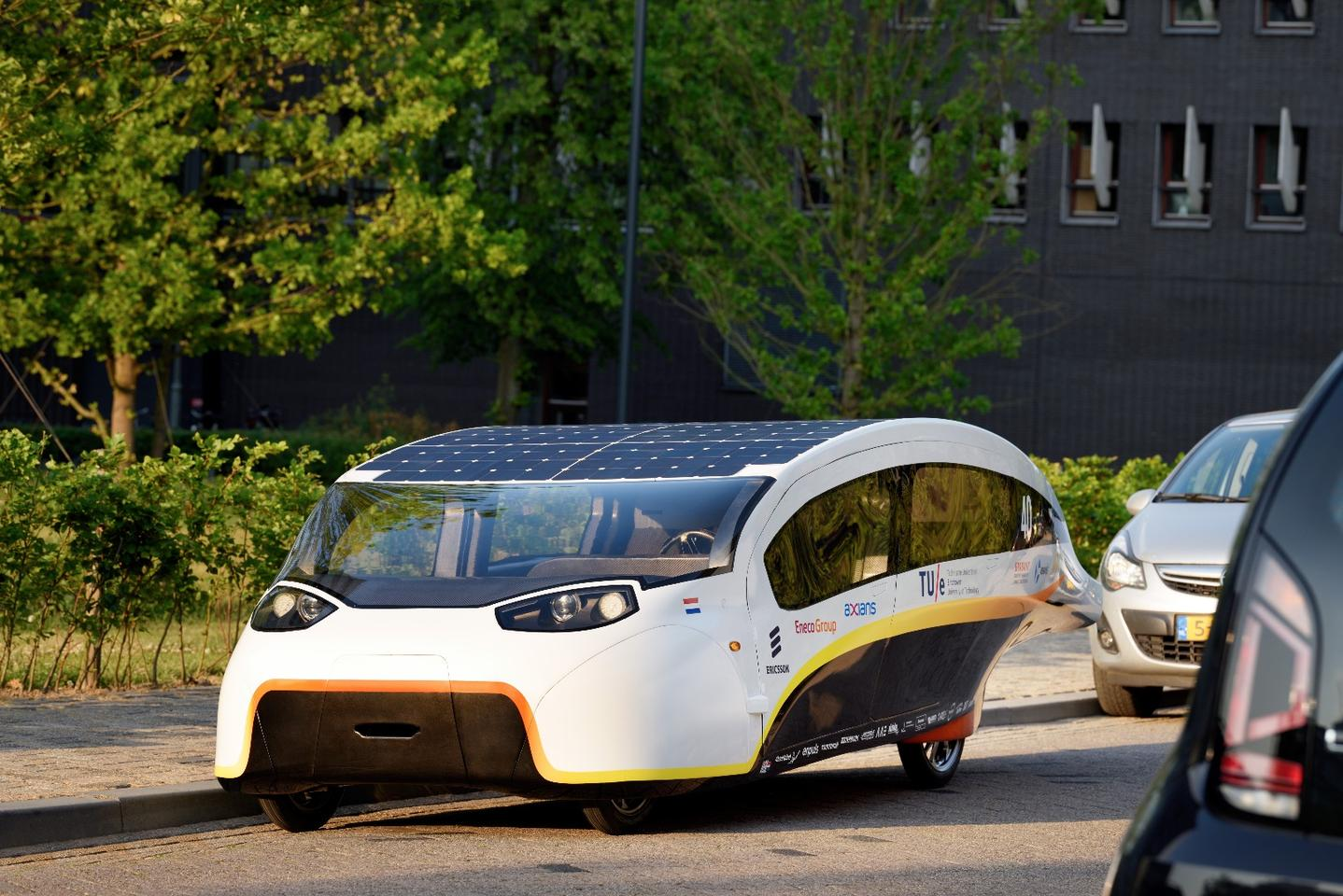 The latest solar car to roll forth from the Technical University of Eindhoven