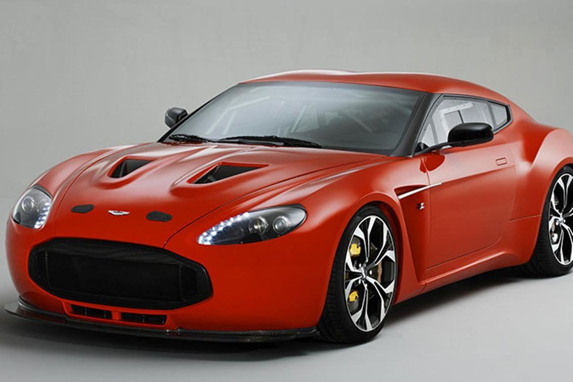 The Aston Martin Zagato V12 will be on display at the 2012 Geneva Motor Show