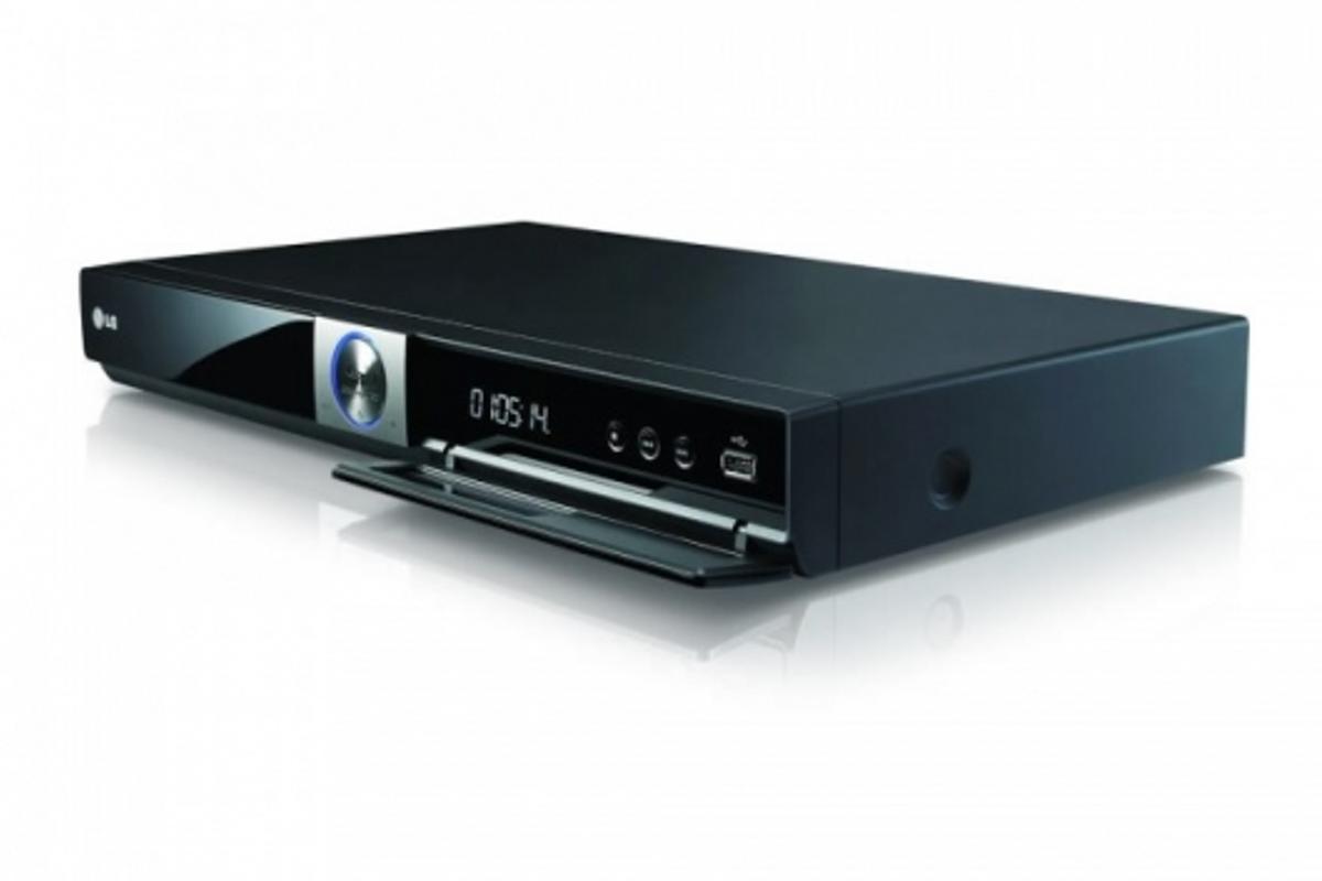 LG's BD370 Blu-ray player