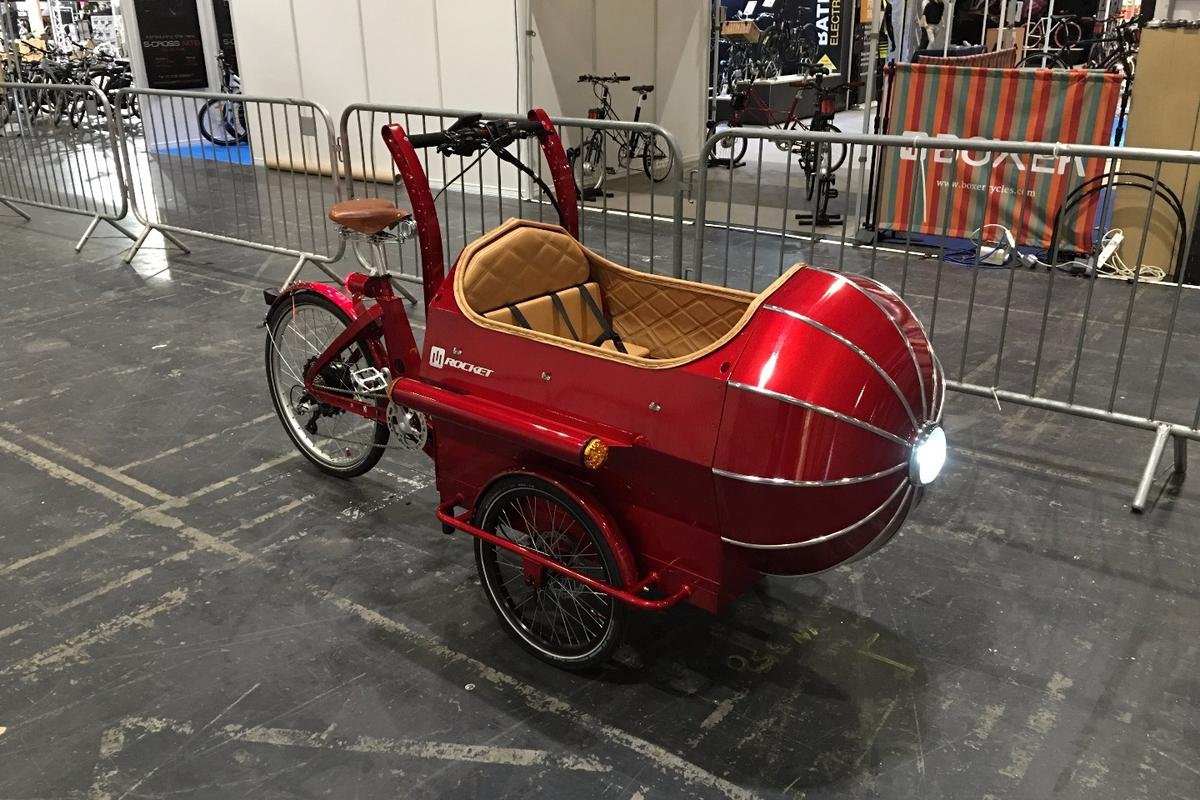 Boxer Cycles showed the new Rocket Saturn at the 2016 London Bike Show this month