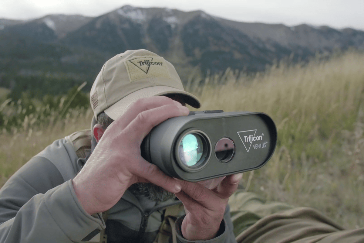 Trijicon's Ventus is the world's first hand-held wind mapper and rangefinder