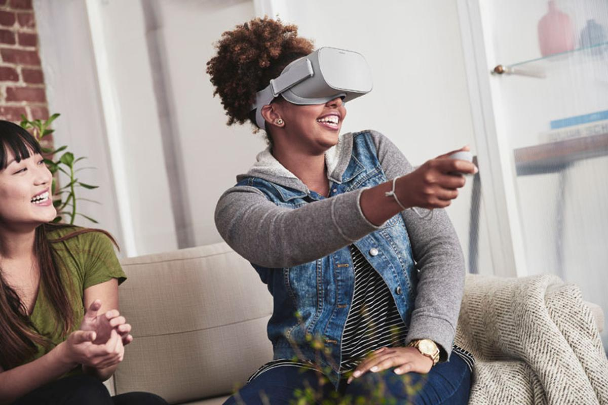 Oculus has announced the Oculus Go, a standalone VR headset that doesn't need a PC or phone