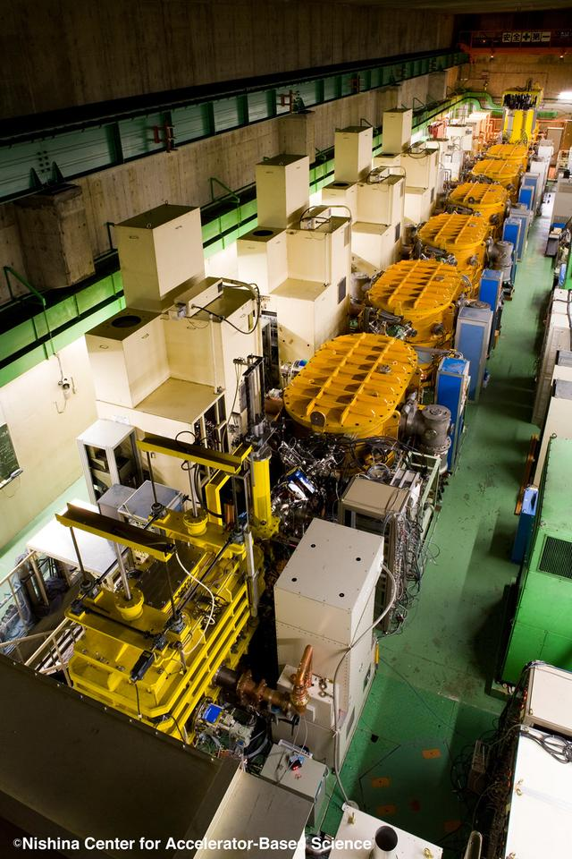 The RIKEN Linear Accelerator Facility outside of Tokyo, in which element 113 has been discovered and confirmed (Photo: RIKEN)