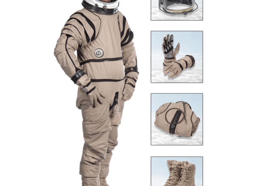 The anti-spinsystem is designed for astronauts and skydivers at extremely high altitudes